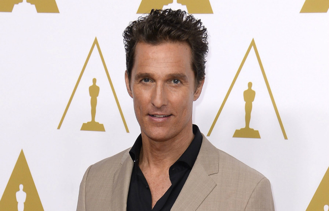 Matthew McConaughey, nominado al Oscar a mejor actor por 'Dallas Buyers Club'