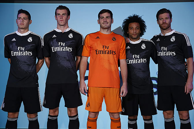 El Madrid lucirá dragones en la Champions  c7cbbcd787d19
