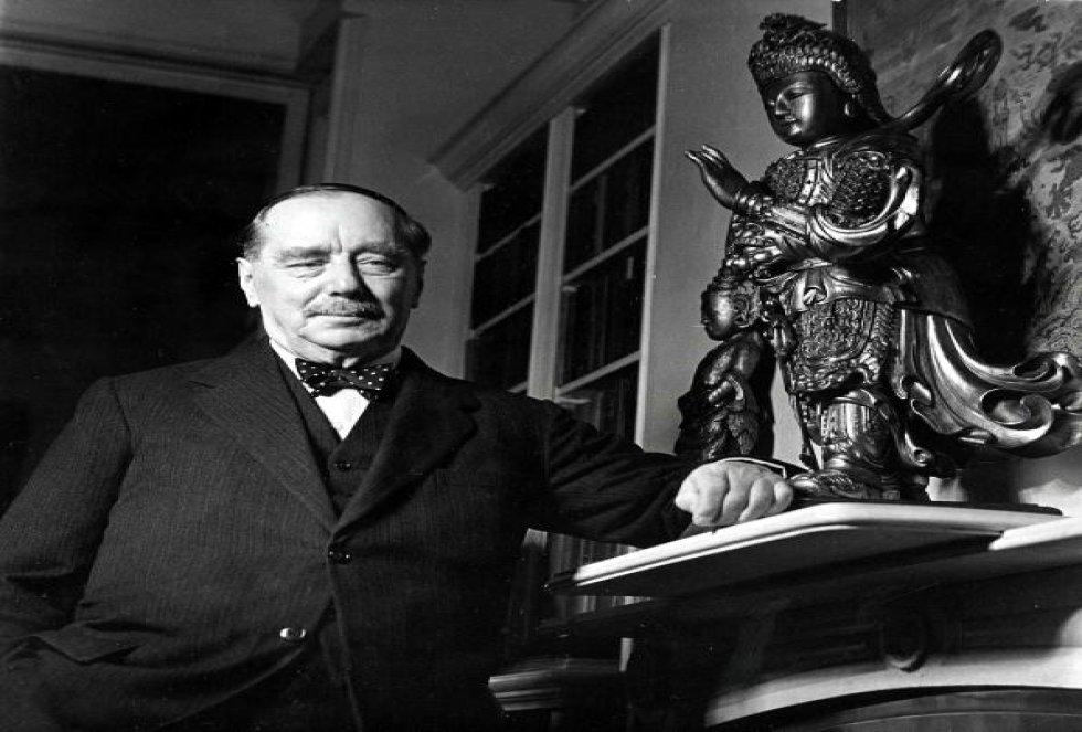 H.G. Wells, escritor de la novela de ficción 'La guerra de los mundos'
