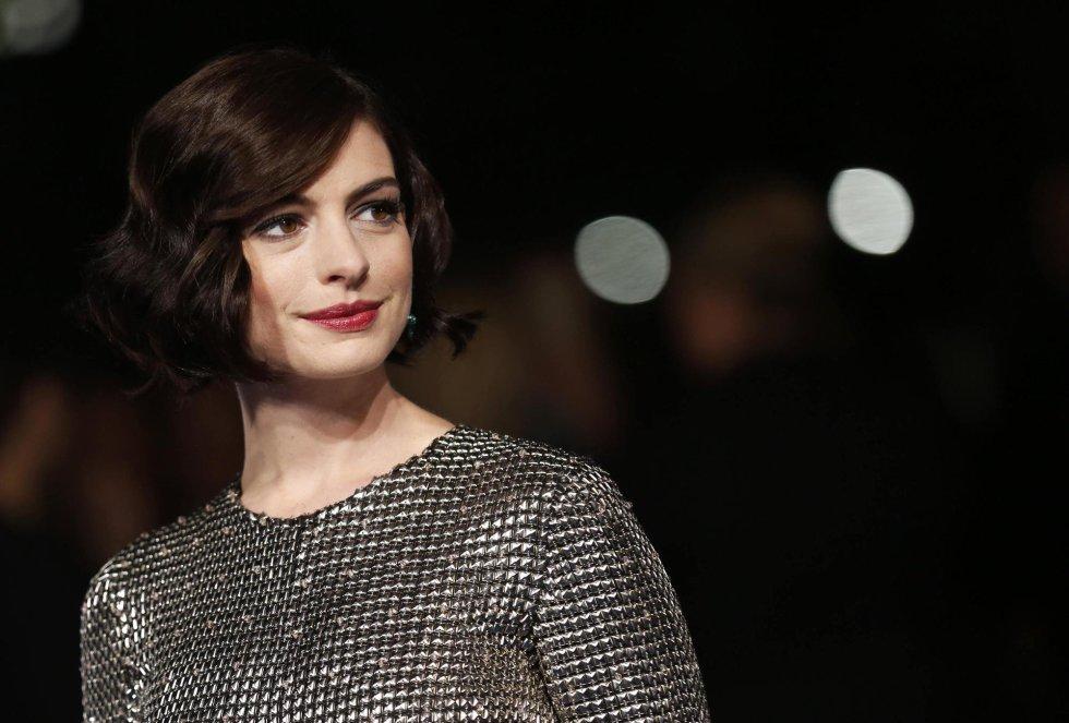 La actriz estadounidense con su último look de melena corta