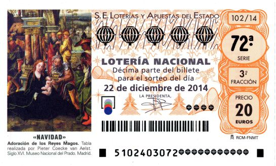 Lotería de Navidad 2014: un Gordo para compartir: Un Gordo para ...
