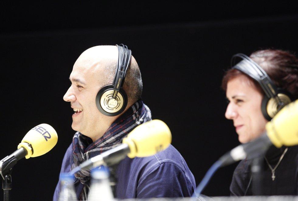 Iñaki, un bilbaino oyente habitual de 'Hoy por Hoy', se suma a la tertulia deportiva del 'Hoy por Hoy', junto a la periodista de Radio Bilbao, Verónica Gómez