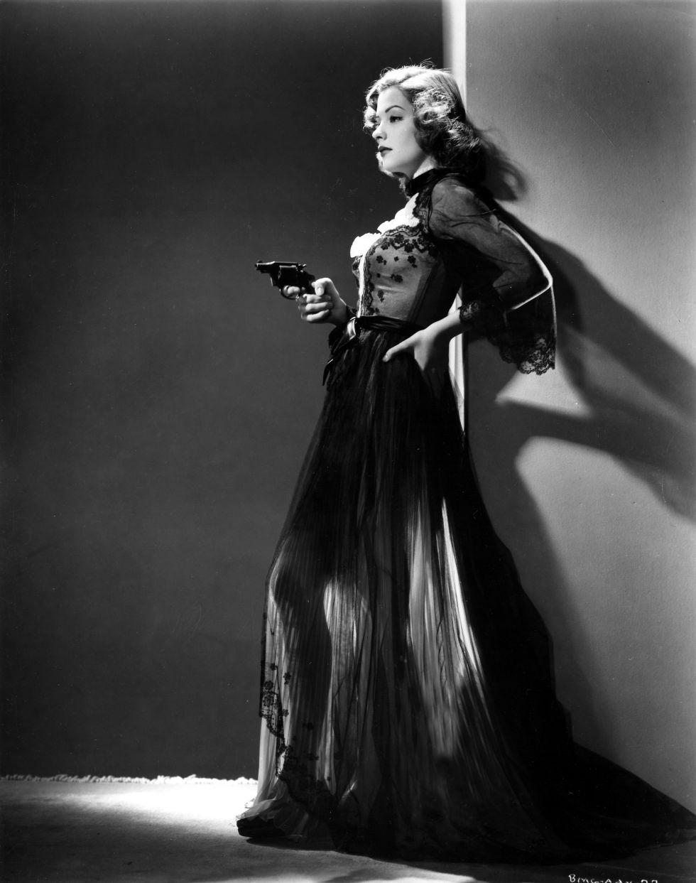 Jane Greer en 'Retorno al pasado' (1947).