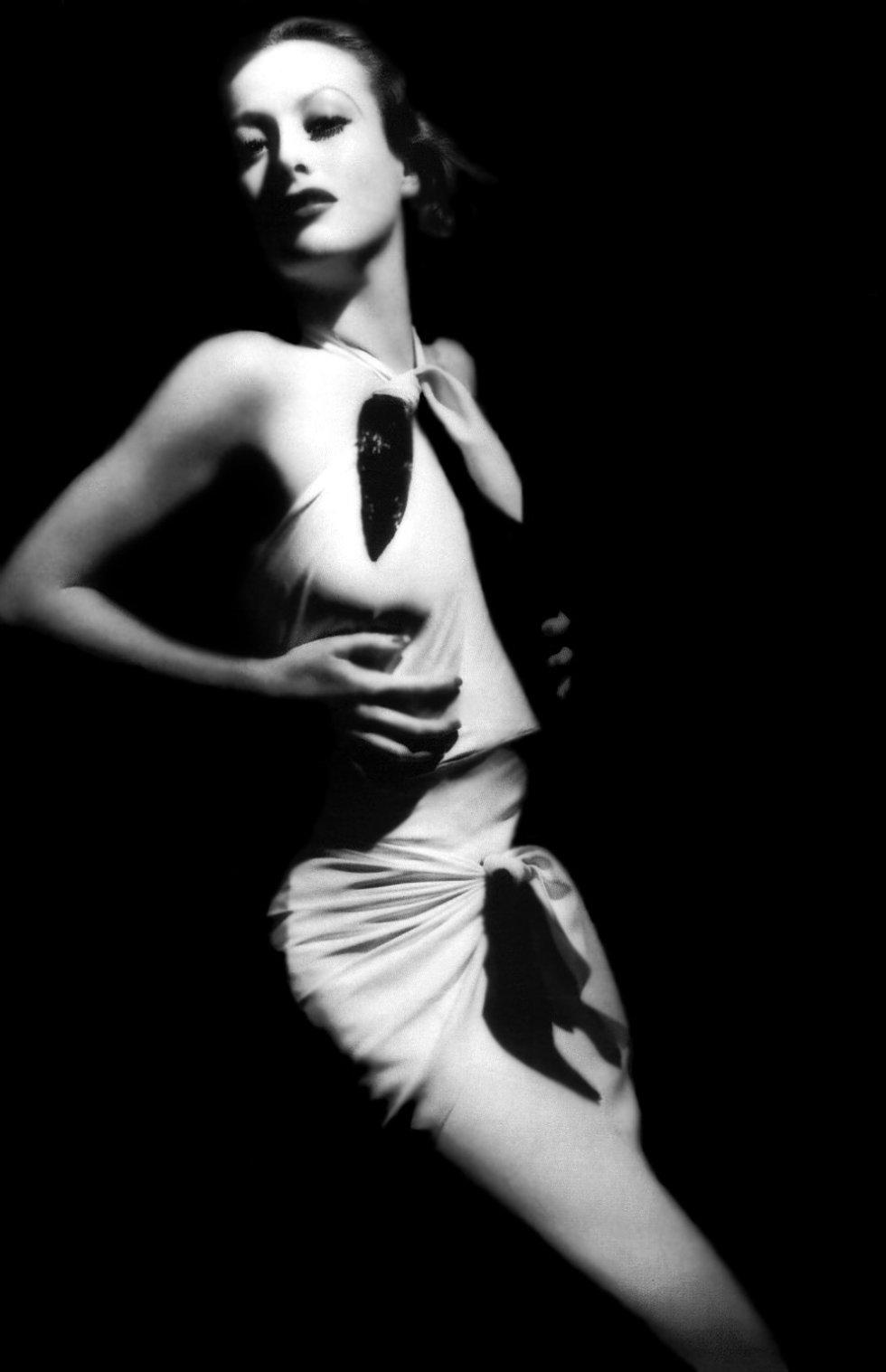 Joan Crawford en la película 'Letty lynton', de 1932.