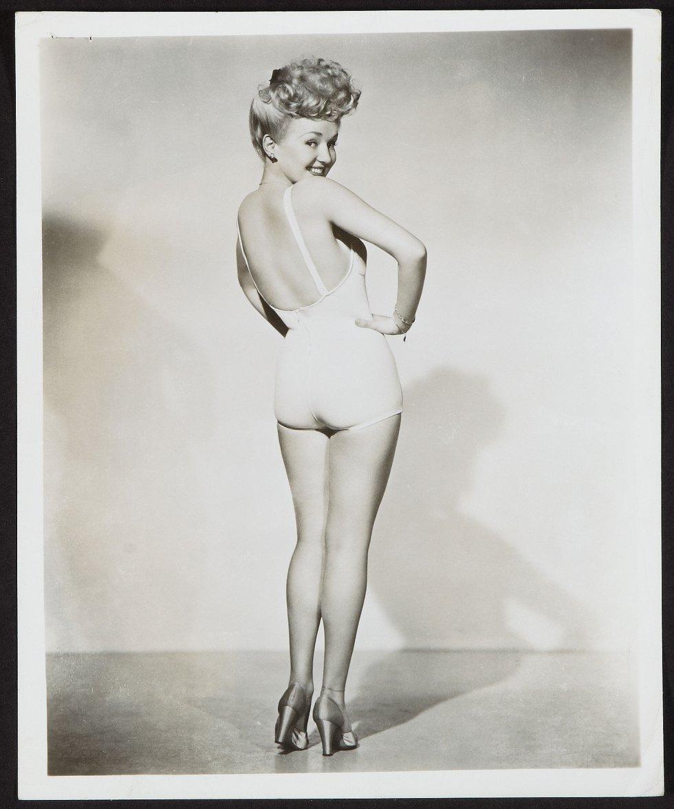 Betty Grable fue la gran estrella del espectáculo estadounidense de los años 30 y 40.