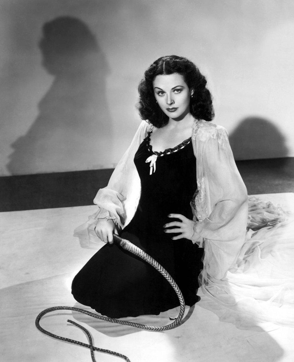 La actriz austriaca Hedy Lamarr triunfó en Europa antes de llegar a Hollywood a finales de la década de los años 30.