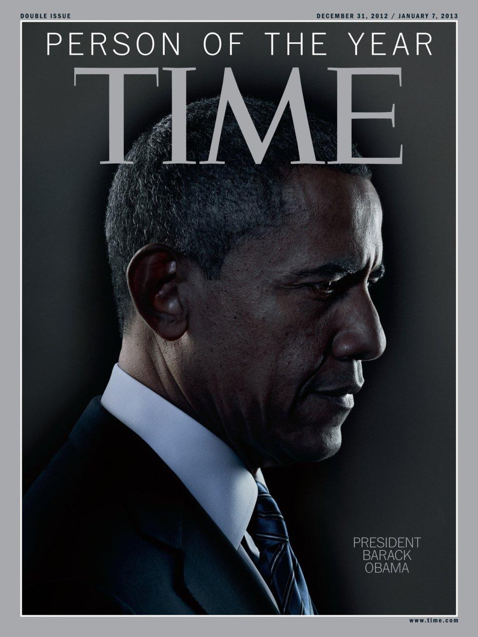Segunda ocasión en que el presidente de los EEUU es la persona del año