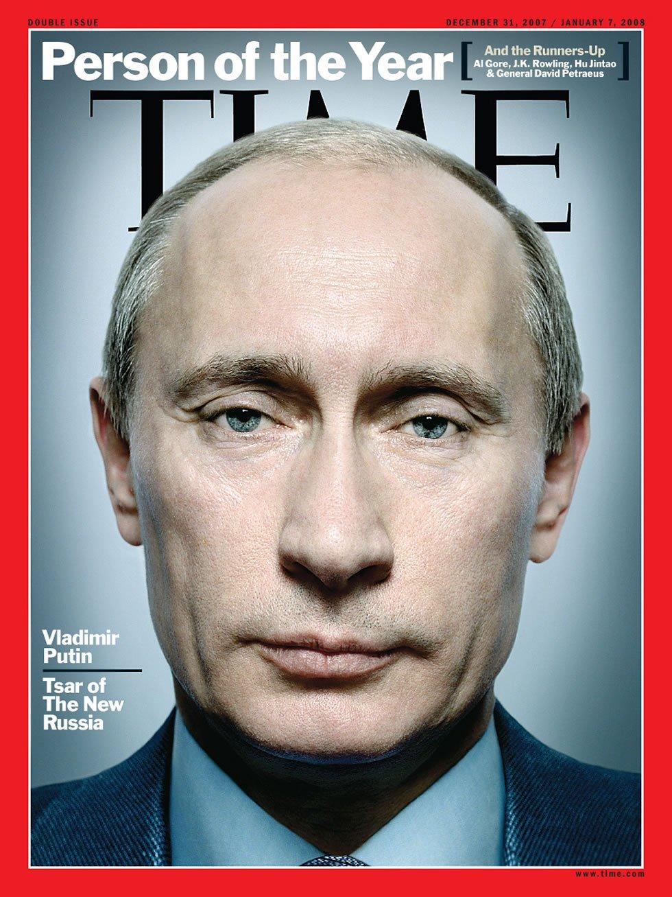 Primer ruso elegido como persona del año en 'Time'