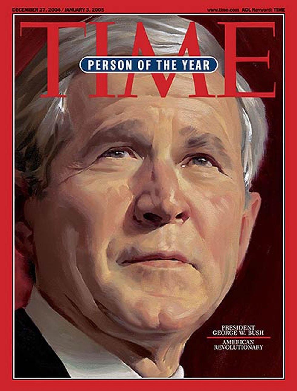 Segunda ocasión en que el presidente republicano ocupa la portada de la revista