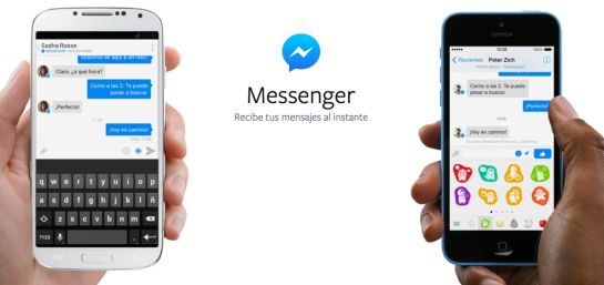 Facebook Messenger en Android y iPhone