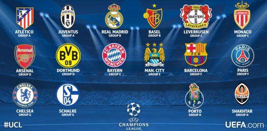 Sorteo de octavos de la Champions League: La mecánica del ...