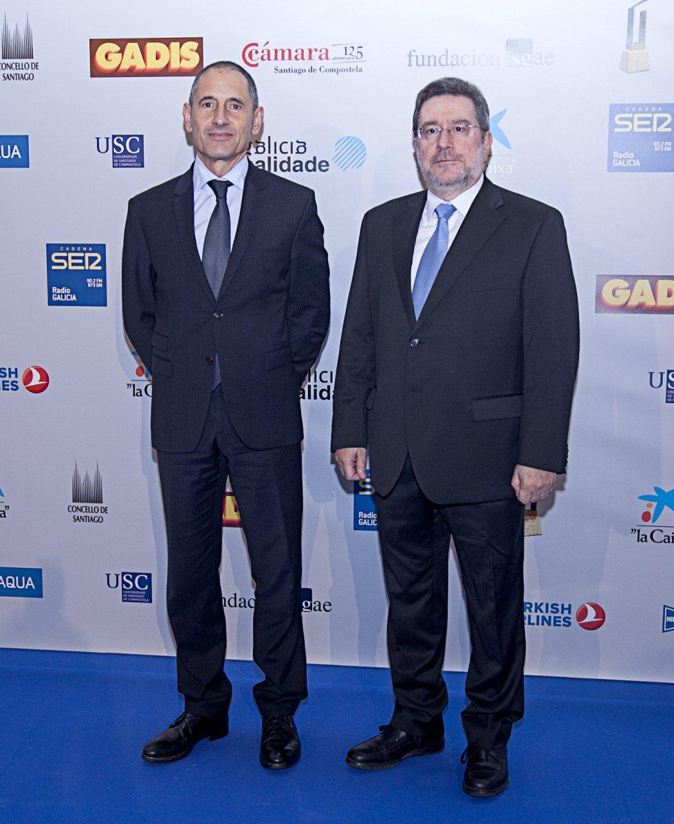 Arturo do Pico de 'R' y Jordi Jordá, director de SER Galicia