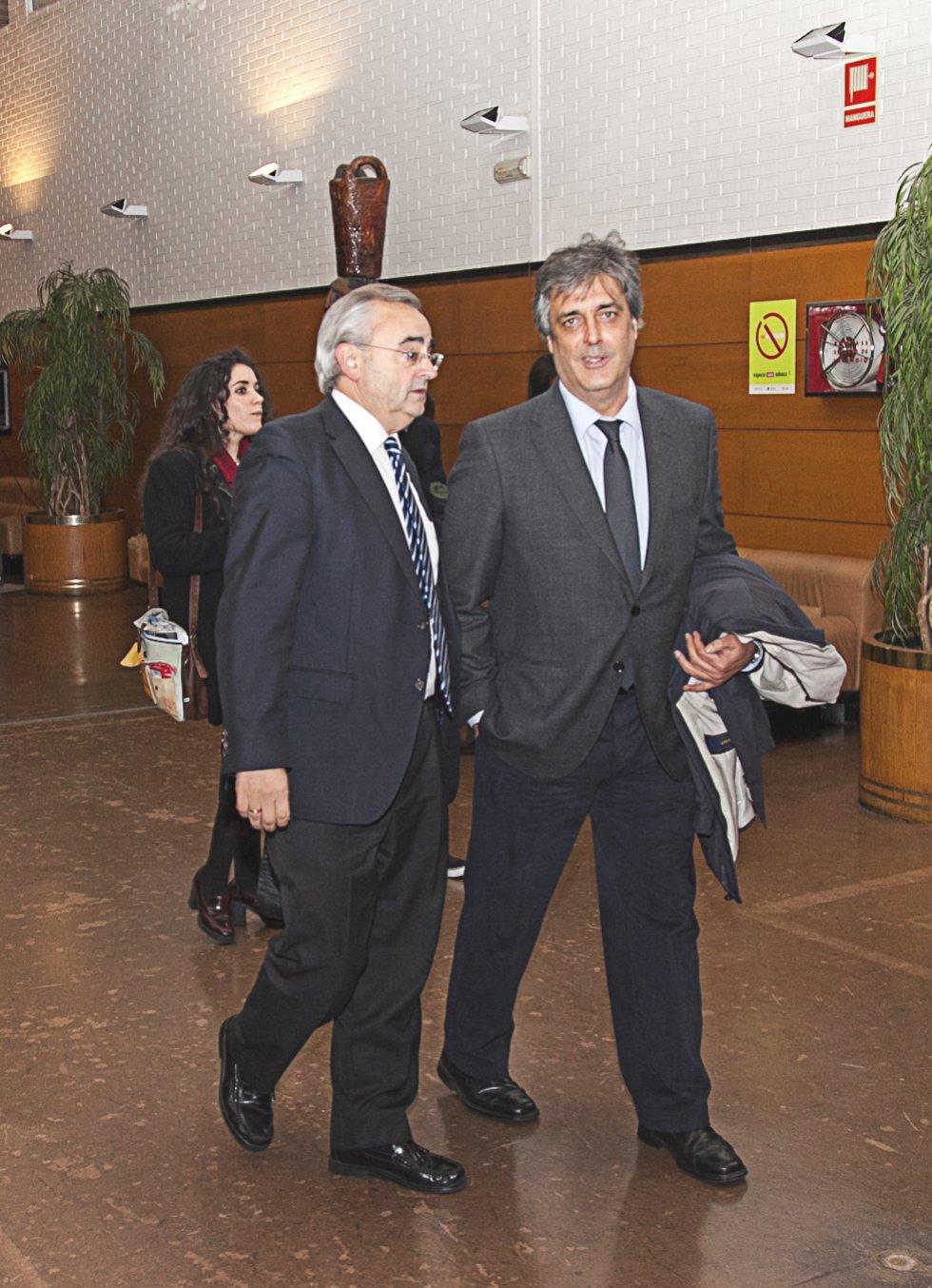 Alfonso Cabaleiro, gerente de Galicia Calidade, y Pedro Puy