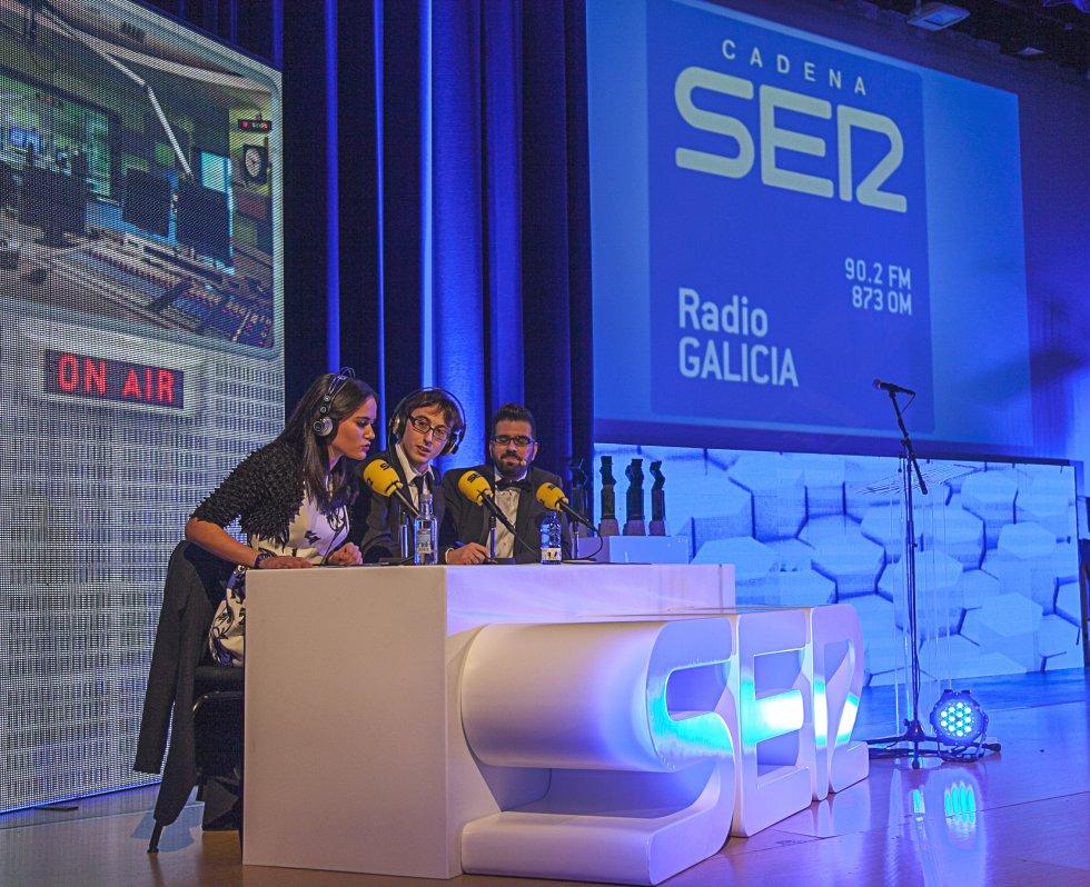 Lara Salgado, Ricardo Rodríguez y Luis Pardo, encargados de presentar la gala