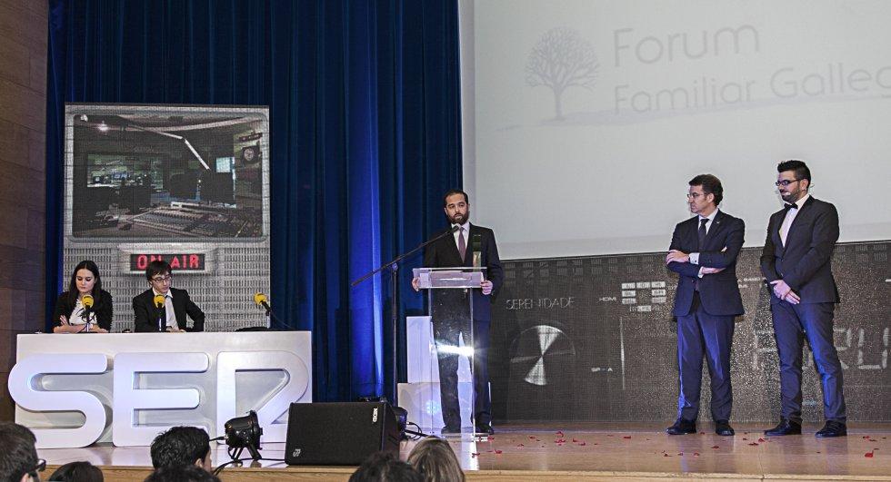 Julio Iglesias Garcia, el presidente del Forum Gallego Asociación Empresa Familiar
