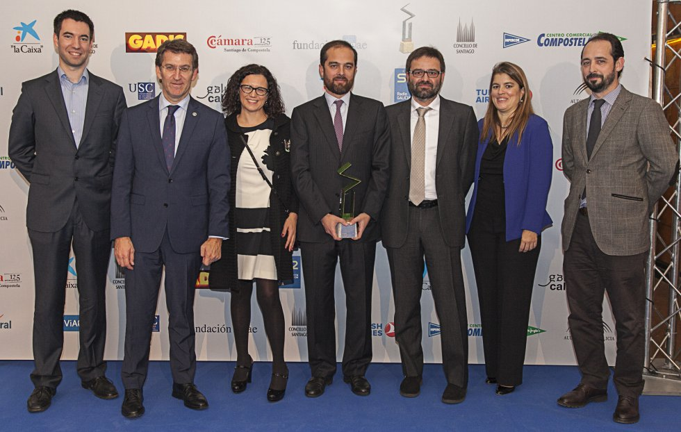 Algunos de los integrantes del Forum de la Asociación Empresa Familiar de Galicia