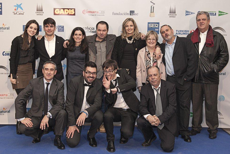 Parte del equipo de Radio Galicia