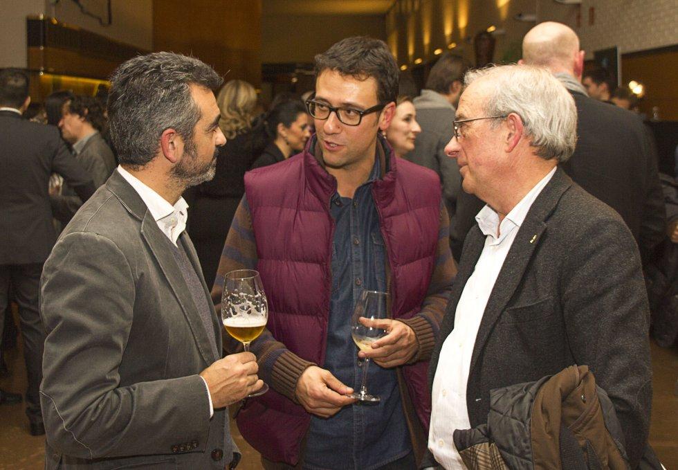 Representantes de la Asociación de Hostelería de Santiago y Comarca