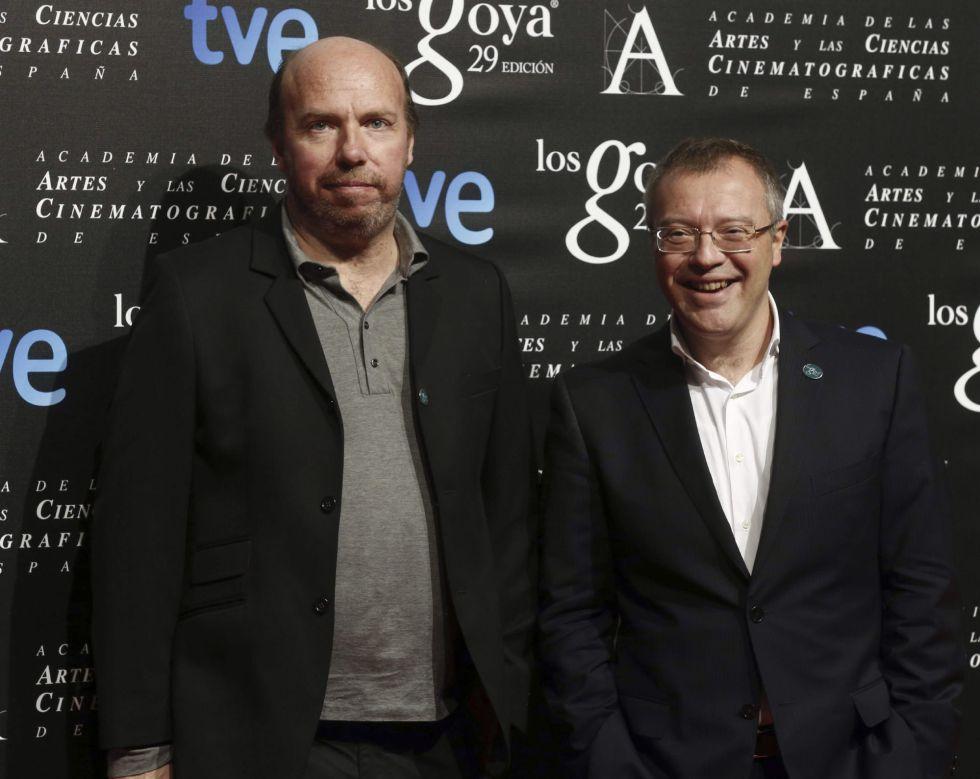 Los guionistas Jorge Guerricaechevarria y Daniel Monzón, nominados a Mejor gión original por 'El niño'