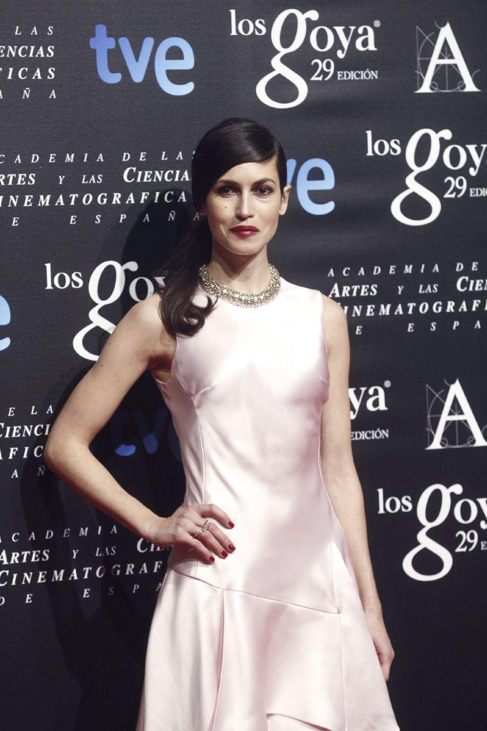 La actriz Nerea Barros, nominada a Mejor actriz revelación por 'La isla mínima'