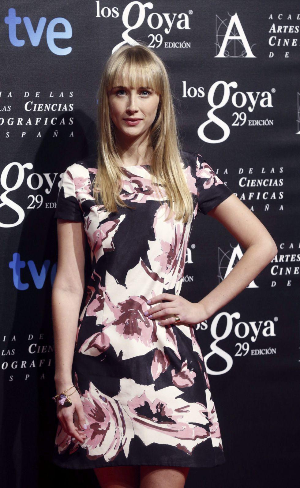 La actriz Ingrid Garcia-Jonsson nominada a Mejor actriz revelación por 'Hermosa juventud'
