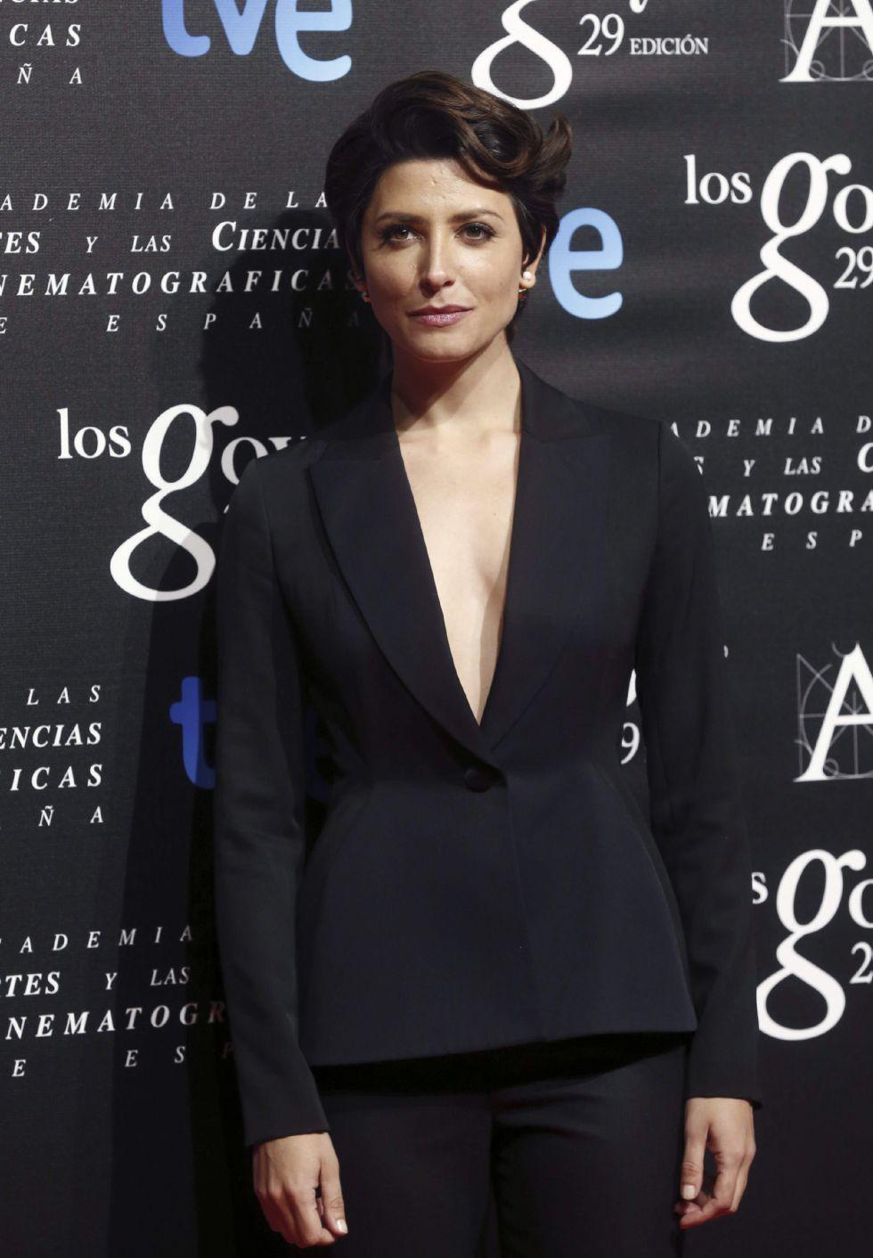 La actriz Bárbara Lennie, nominada a Mejor actriz protagonista por 'Magical girl'