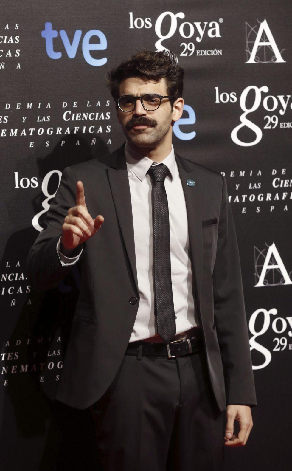 El actor David Verdaguer nominado a Mejor actor revelación por '10.000 kilómetros'