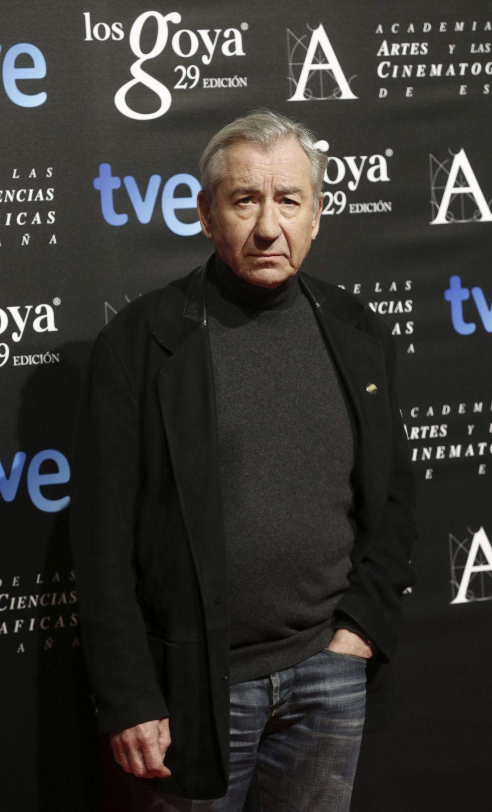El actor José Sacristán, nominado a Mejor actor de reparto por 'Magical Girl'
