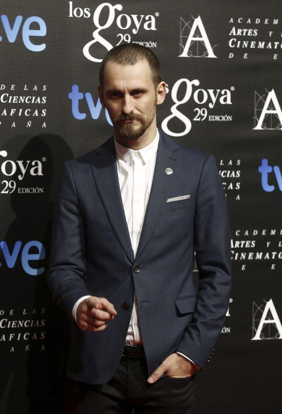 El actor Raúl Arévalo, nominado a Mejor actor protagonista por 'La isla mínima'