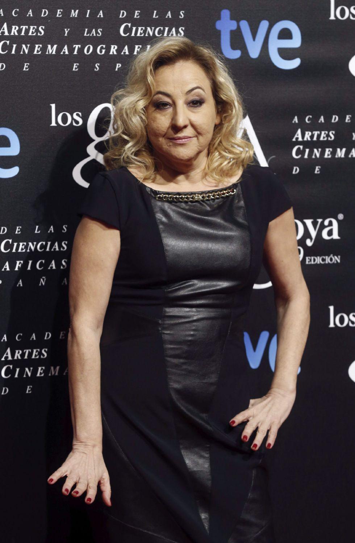 La actriz Carmen Machi, nominada a Mejor actriz de reparto por 'Ocho apellidos vascos'