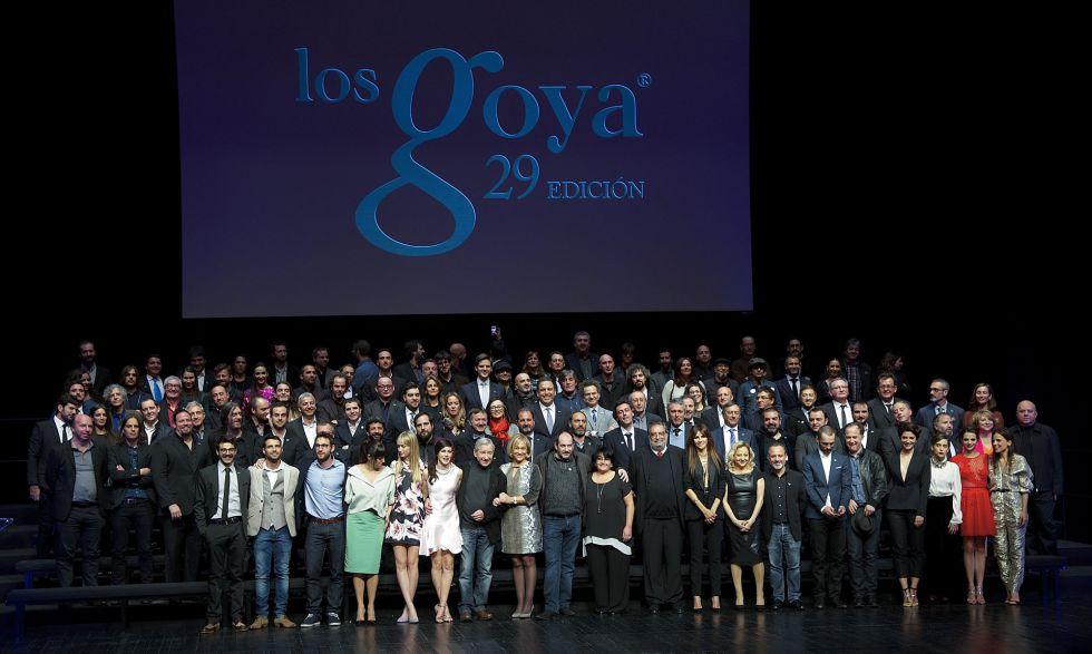 Los nominados a los Premios Goya