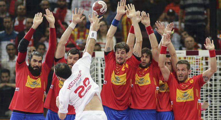España supera a Túnez para jugar los cuartos de final ante ...