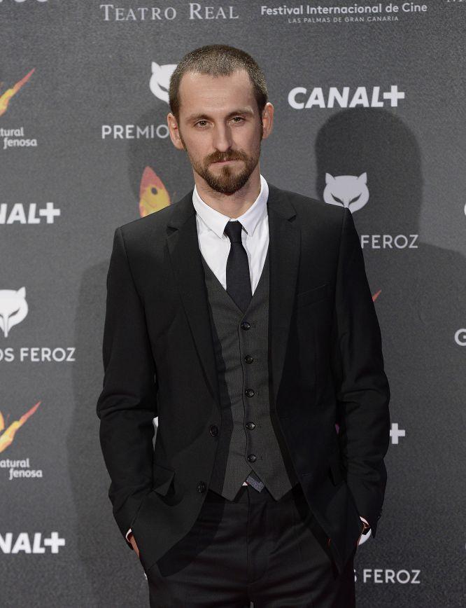 Uno de los protagonistas de 'La isla mínima', Raúl Arévalo, en los premios Feroz