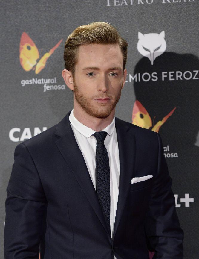 El actor Pablo Rivero fue uno de los asistentes a los premios Feroz