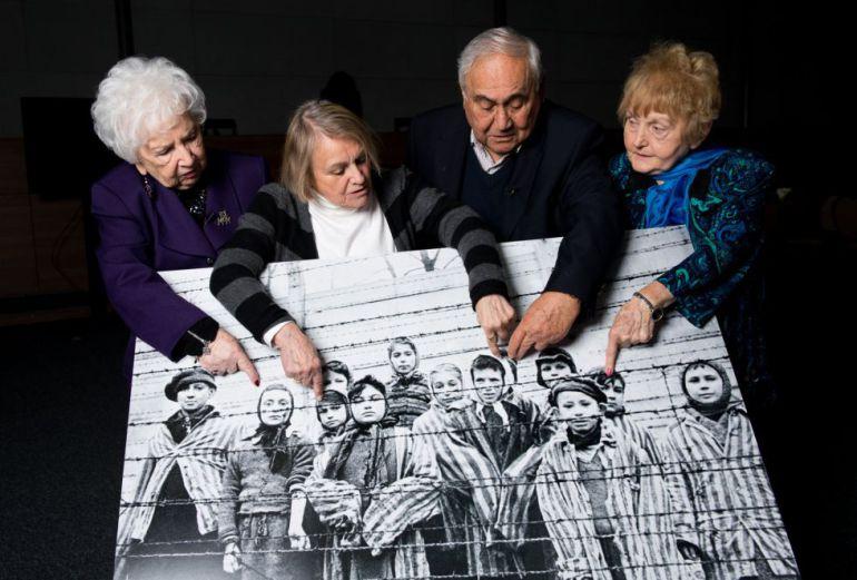 Resultado de imagen para sobrevivientes del campo de Auschwitz