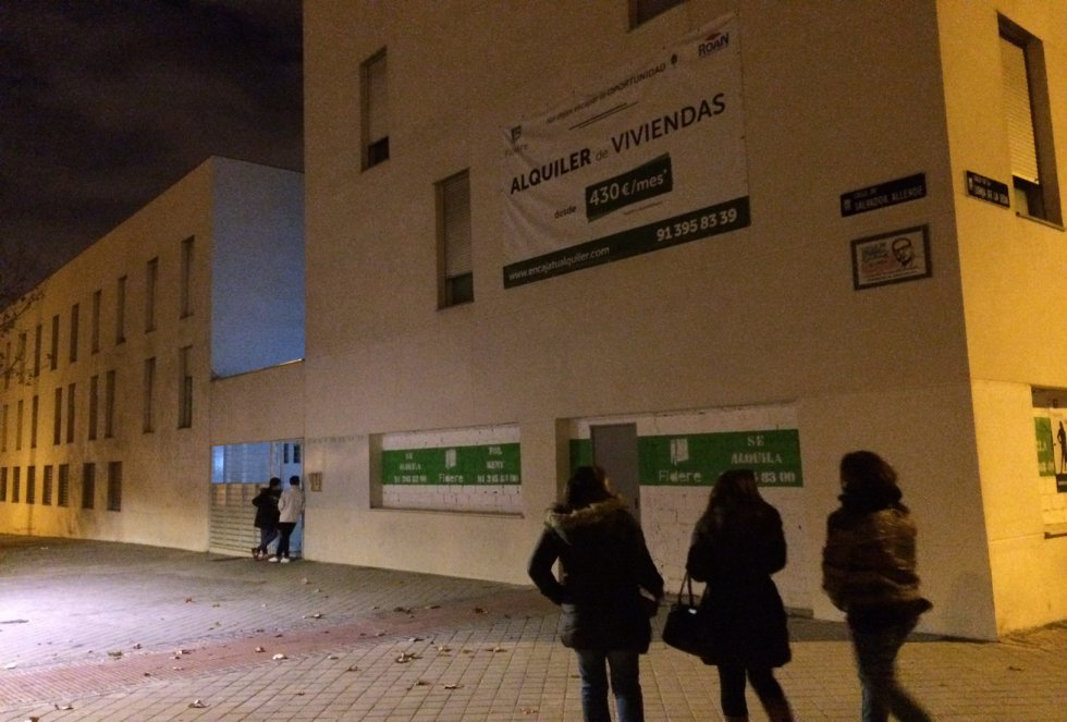 Viviendas sociales del Ayuntamiento de Madrid.