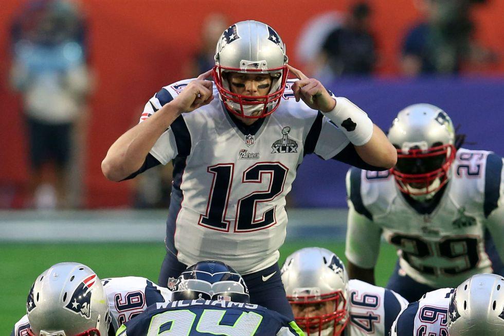 El jugador de los Patriots Tom Brady.