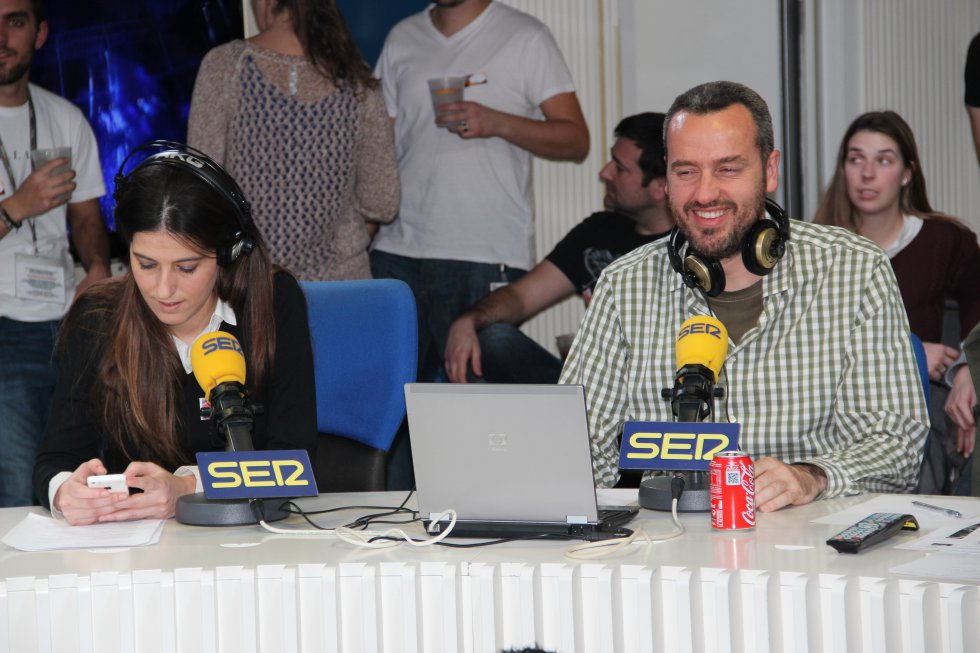 Laura Martínez y Carlos Iribarren.