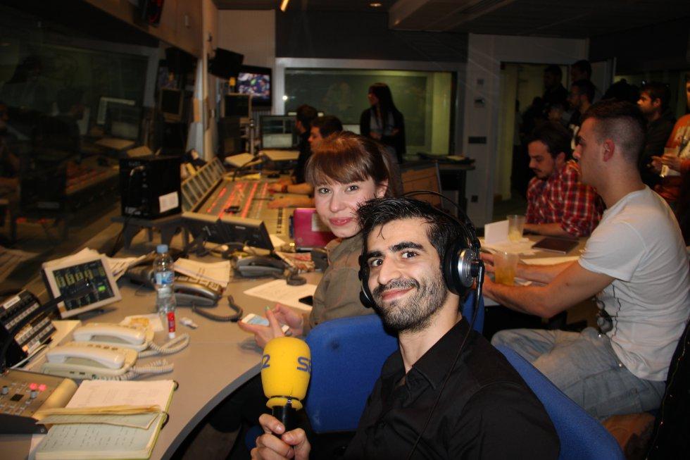 Cristina Puebla y Jorge Escorial.