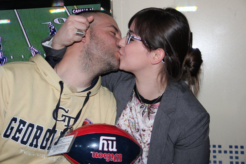 Más besos en la Super Bowl que te hemos contado en la SER.
