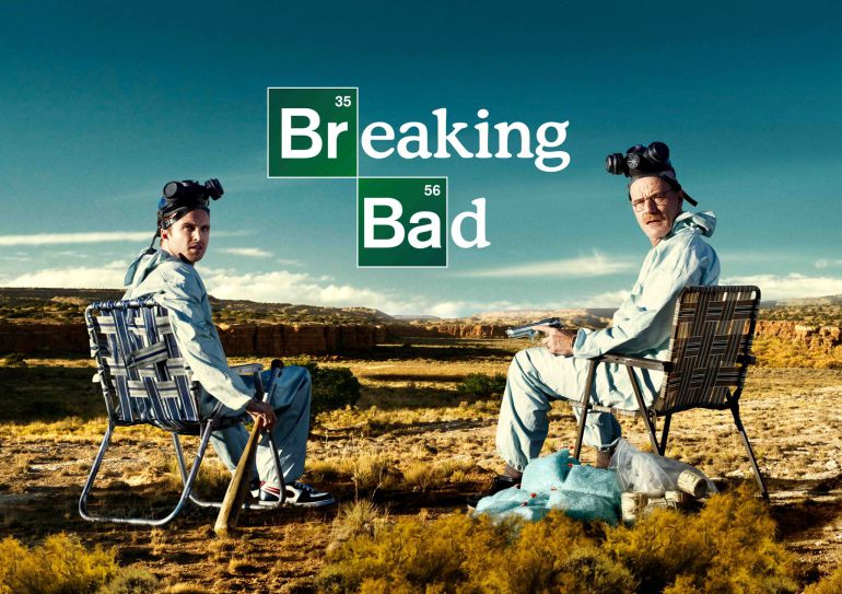 Cartel de 'Breaking bad'