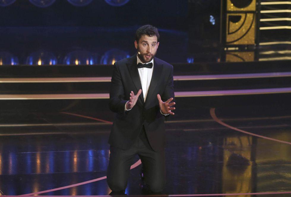 El actor Dani Rovira, presentador del evento, al comienzo de la gala