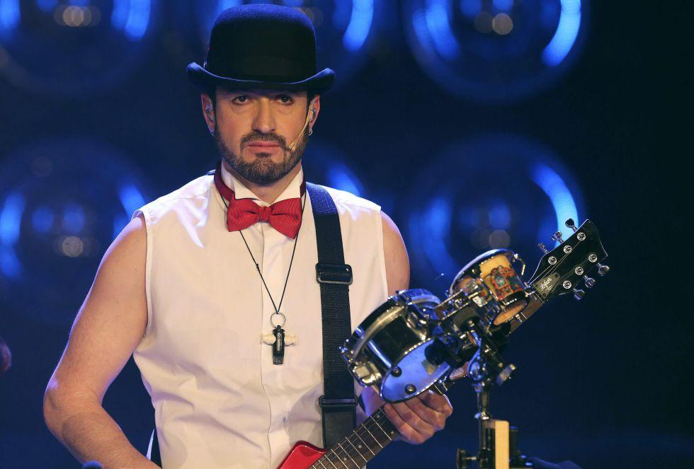 El actor Alex O´Dogherty durante la gala de entrega de los premios Goya