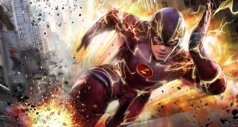 Grant Gustin es Barry Allen en la serie 'The Flash'