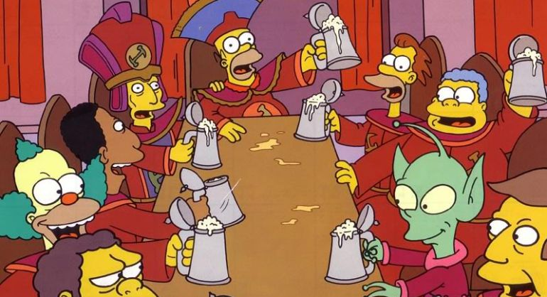 'los Canciones La Más Pegadizas De En Diez Las Simpson'Televisión 5ARLjq34