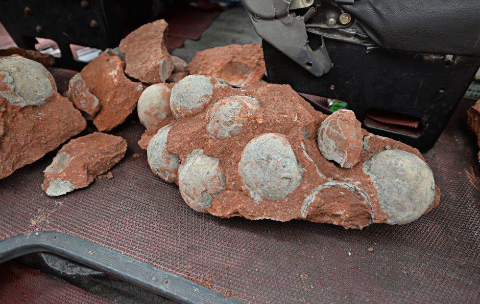 Los arqueólogos chinos los encontraron en una zona en obras en Heyuan, una ciudad de la provincia de Cantón (sur del país).