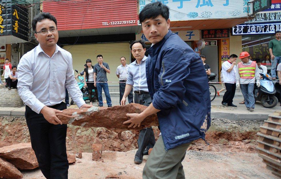 La ciudad de Heyuan posee un récord Guinness por haber encontrado ya 10.008 huevos de dinosaurios, ocho esqueletos fosilizados y 168 huellas.