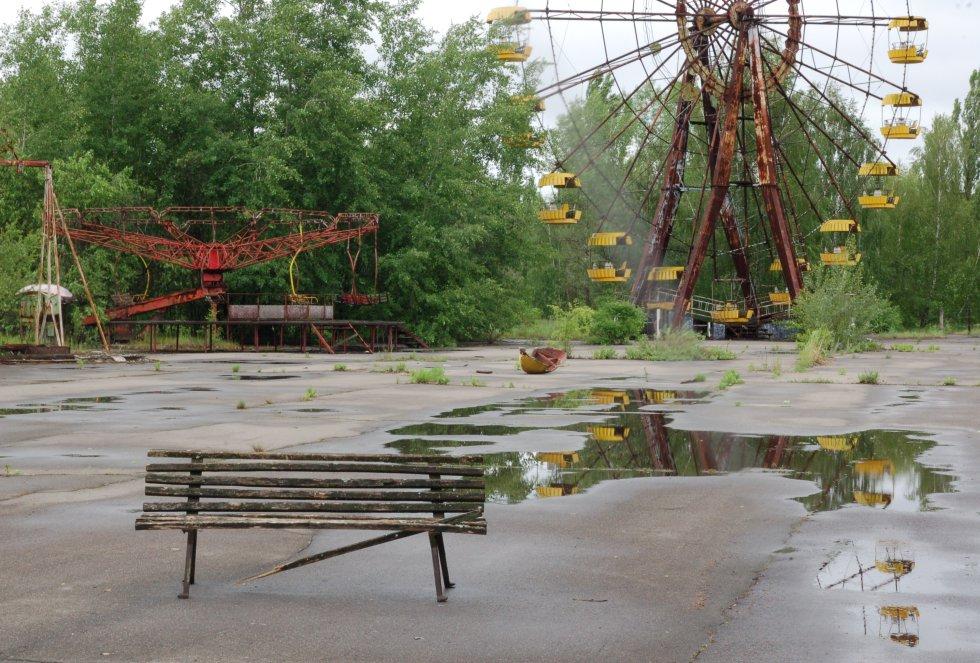 El accidente de Chernobyl ocurrió dos días antes de que este parque abriera por primera vez