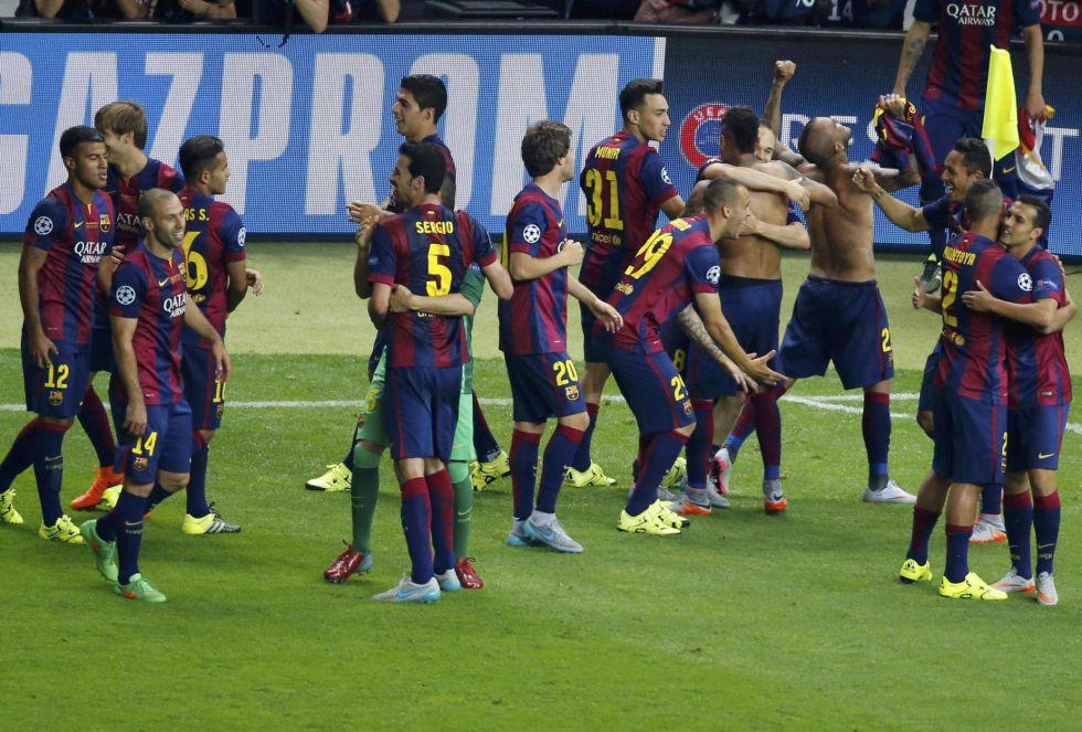 El Barcelona conquista su quinta Copa de Europa, la cuarta en nueve años