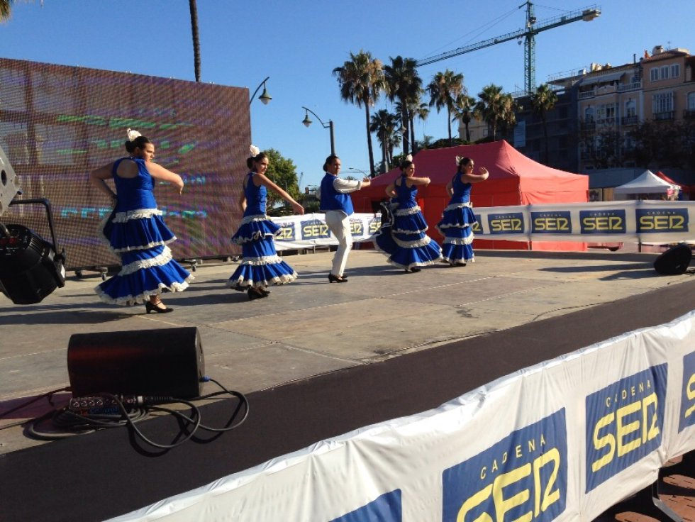 Malagueños y bailes tradicionales para divertir a todos.